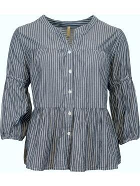 Ofelia - Ofelia IDA jeansblå Skjorte/bluse
