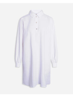 Sisters Point - SISTERS POINT MIVA WHITE Skjorte l/æ