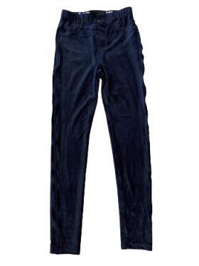 Marc Lauge - Marc Lauge Aleia blå velour leggings
