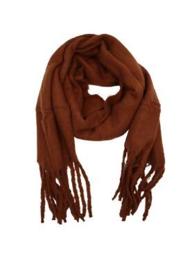 Vanting - Vanting rødbrunt halstørklæde