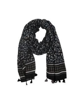 Vanting - Vanting tørklæde med kvaster Tørklæde
