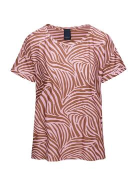 One Two Luxzuz - One Two pink Karin t-shirt