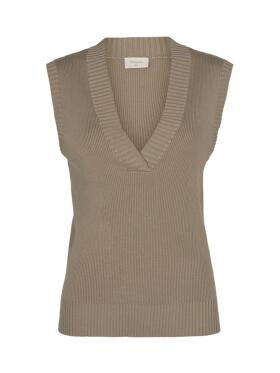 Freequent  - FReequent LOVELY BEIGE Vest