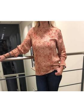 Ofelia - OFELIA RIKKE RØD Bluse