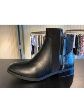 Vanting - Vanting sort støvlet