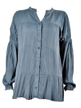 Ofelia - Ofelia GRY blå Skjorte/bluse