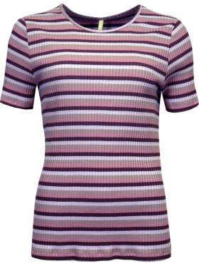 Ofelia - Ofelia GRAZIE rosa T-Shirt k/æ