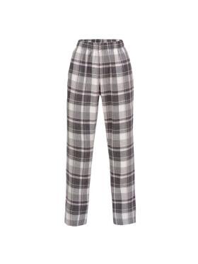 Trofé - Trofè grå flonels pyjamas buks