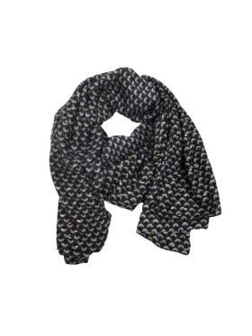 Vanting - Vanting sort Tørklæde