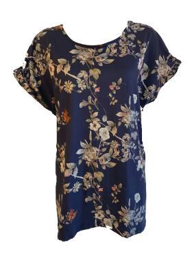 DNY - Dny Franny t-shirt marineblå Bluse