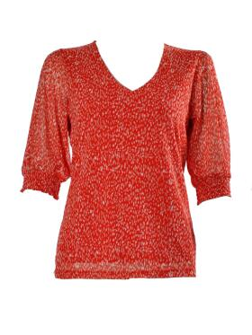Freequent  - FREEQUENT KARMA CORAL BLUSE