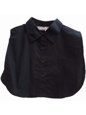 Vanting - Vanting sort skjortekrave